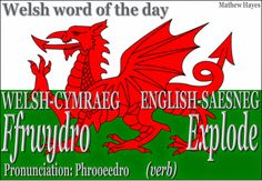 #Welsh word of the day: Ffrwydro/ #Explode