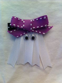 Ribbon Ghost Bow