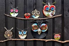 Recycled Owl Art Tutorial