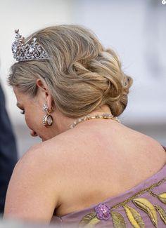 Frank Walter Steinmeier, Tiara Hairstyles, Dutch Royalty, Queen Maxima, Absolutely Fabulous, Banquet, Netherlands, Berlin, King