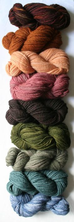 Manos del Uruguay yarns - I made a Moebius scarf using manos.  I lurve it!