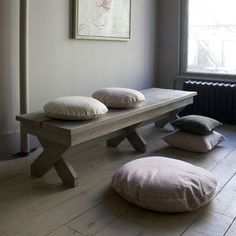 Canvas Shelter Bench