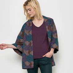 Veste kimono imprimée R studio : prix, avis & notation, livraison. La veste kimono 63% viscose, 27% coton, 10% lin. Coupe oversize (ample). Manches kimono. Ceinture à nouer. Longueur 80 cm.La veste kimono est la pièce tendance de la saison. On aime sa coupe loose et son imprimé coloré.