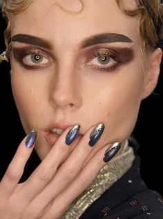 The Best Manicures And Nail Art Designs From Fashion Month