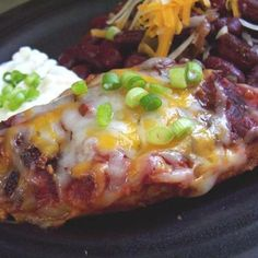 Low Carb Mexi Baked Chicken