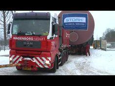 In de arreslee door de sneeuw in Twickel - YouTube