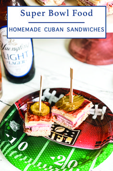 Make these delicious Cuban Sandwich Bites with the simple recipe from Everyday Party Magazine and celebrate the Super Bowl like you are in Tampa! #SuperBowlFood #SuperBowlRecipe #YborCityFood #Recipe