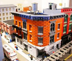 Cool Lego project.  LEGO Brooklyn Model 1