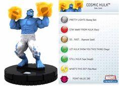 Cosmic Hulk #045 Incredible Hulk Marvel Heroclix Singles