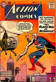 Superman hitchhiking