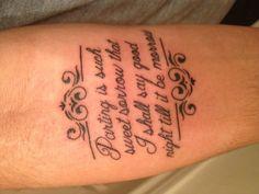 #shakespeare #tattoo #RomeoAndJuliet