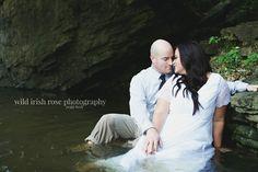 Amazing trash the dress pic! ❤❤https://www.facebook.com/WildIrishRosePhotography/ #trashthedress #wedding