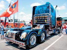 Custom Big Rig Truck Show 2002 Freightliner
