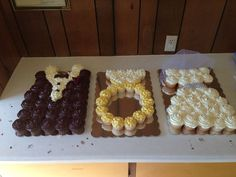 Pull Apart Cupcake Cakes | Cupcake cake. Cute for bridal showers