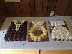 Pull Apart Cupcake Cakes | Cupcake cake