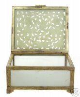 Soo Cho Jade / Serpentine Chinese Trinket Box