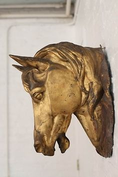 19th Century French Tole Horse Head Butcher Sign …   The Golden Hour