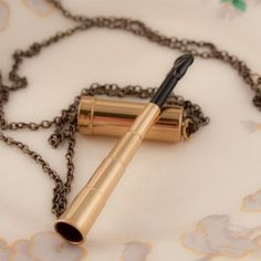 Vintage Telescopic Cigarette Holder Necklace Vintage Cigarette Holder, Cigarette Case, Smoke Art, Up In Smoke, All Tomorrow's Parties, Cigar Holder, Cross Jewelry, Just In Case, Art Nouveau