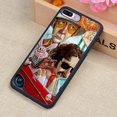 Johnny Depp Fear Loathing Vegas Funny Soft TPU Skin Phone Cases For iPhone 6 6S Plus 7 7 Plus 5 5S 5C SE 4 4S Back Cover Shell