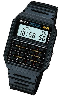 Another classic.....Casio I had one of these Back in the day.