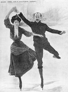inspiring Olympic Moment: Madge Syers Competes With the Men Syers, a British figure skater, became the first woman to compete at the World Figure Skating Championships, in 1902, then an all-male event. When she entered the competition (and took home the silver medal) it pushed the International Skating Union to create a female division for the 1908 Games. Syers went on to win the gold in ladies singles and the bronze in pairs (along with her husband and partner).