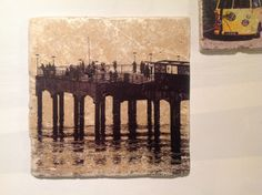 Boscombe Pier, on Ceramic