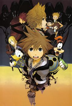 Kingdom Hearts | Square Enix | Disney Interactive Studios | Shiro Amano