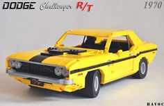 Leave some skid marks with this LEGO 1970 Dodge Challenger
