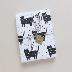 Papier cadeau | Wrapping paper Dotty Kitty