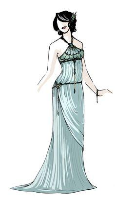 Google Image Result for http://www.deviantart.com/download/147115195/Greco_Nouveau_Dress___Wedding_by_daestwen.jpg