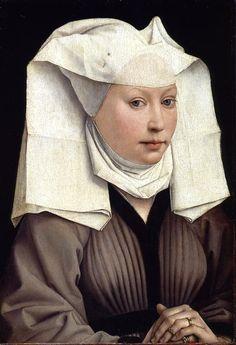 Rogier Van der Weyden, Portrait of a Young Woman, c. 1435