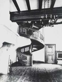 Wewelsburg castle interior - Stairwell Weddings performed here too.