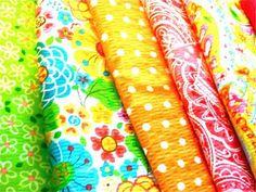 new seersucker fabrics fr joann... love love, beautiful summer colors!