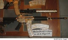 Diamond-Studded Guns Part of Mexican Drug Lord's Haul