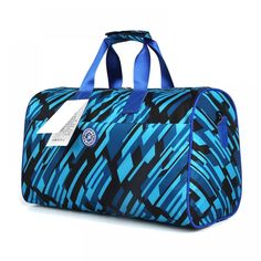 Art Crack Abstract Travel Lightweight Waterproof Foldable Storage Carry Luggage Large Capacity Portable Luggage Bag Duffel Bag