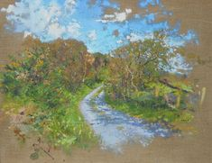 A landscape painting of a country lane in Ireland. Painted in oil on linen canvas. #landscapepainting #landscapeoilpainting #landscapepaintingireland #landscapepaintings #contemporarylandscapepainting #landscapepaintingsireland #contemporaryirishlandscapepainting #contemporaryirishlandscapepaintings Irish Landscape, Contemporary Landscape, Landscape Art, Landscape Paintings, Garden Painting, Art Tips, Impressionist, Ireland, Scenery