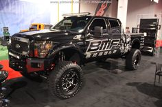 The #BMF wheels truck at #SEMA 2012