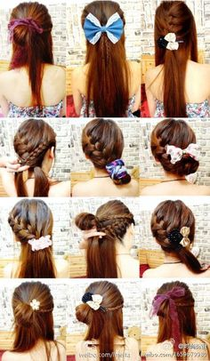 Groovy Mermaid Hair Mermaids And Ribbons On Pinterest Hairstyles For Women Draintrainus