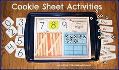 Cookie Sheet Challenge Volume Number Order, Number Concepts - Make Take & Teach Math Classroom, Kindergarten Math, Teaching Math, Classroom Ideas, Teaching Ideas, Math For Kids, Fun Math, Math Resources, Math Activities