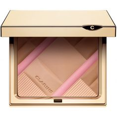 Clarins 'Colour Accents' face and blush powder from collector face palette Blusher Tips, Blusher Brush, Homemade Blush, Face Scrub Homemade, Mascara, Eyeliner, Eyebrows, Beauty Tips For Skin, Beauty Make Up
