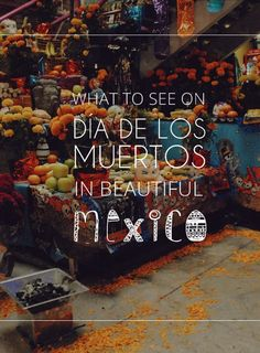 MÉXICO | What to see on Día de los Muertos | www.ellawayfarer.com