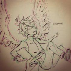 An angel has fallen.. Fang, boboiboy,