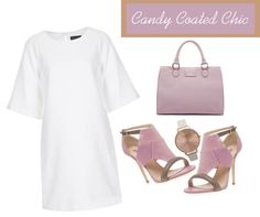 """Candy Coated Chic"" by latoyacl ❤ liked on Polyvore"