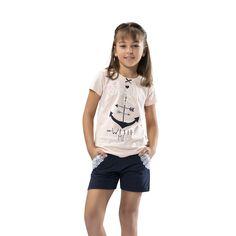 Özkan Kız Çocuk Şortlu Takım 41075