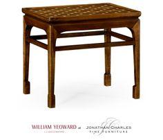 Leyburn mini table #hpmkt #jcfurniture #jonathancharles #Furniture #InteriorDesign #decorex #WilliamYeowardCollected