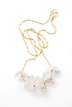 Torchlight Quartz Shard Necklace