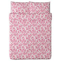EMELINA ROS Duvet cover and pillowcase(s) - Full/Queen (Double/Queen) - IKEA