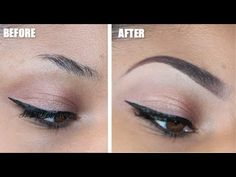 The Perfect 3 min Eyebrow | Tutorial - YouTube