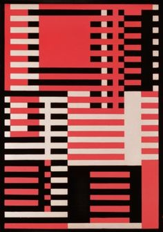 AO On Site – New York: 'Bauhaus Workshops for Modernity,' featuring Paul Klee, Vasily Kandinsky, Josef Albers, and more at MoMA through Jan. Josef Albers, Anni Albers, Design Bauhaus, Textile Patterns, Textile Design, Abstract Pattern, Abstract Art, Bauhaus Textiles, Modern Art