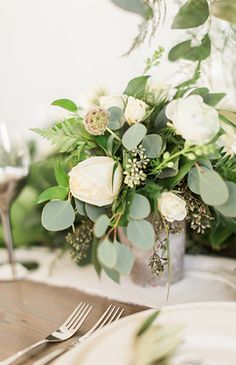 Farmhouse Wedding Inspiration Full of Greenery - Inspired By This